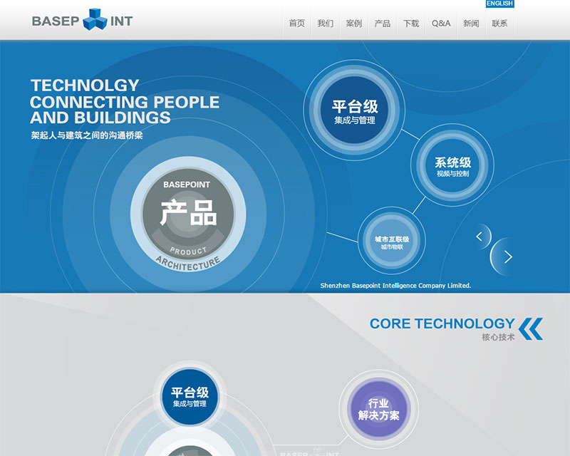 深圳新基点智能股份有限公司网站建设